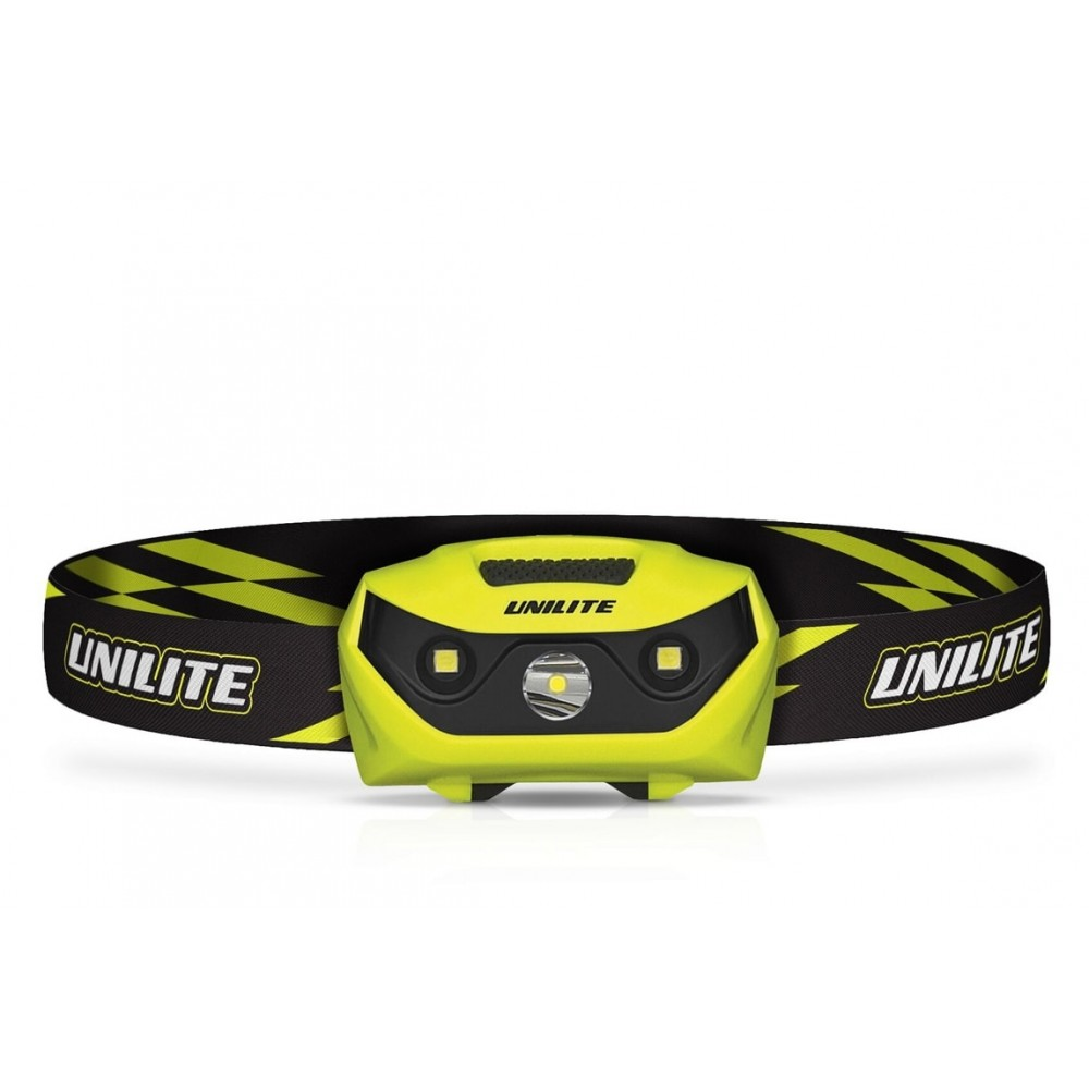 UNILITE PS-HDL6R LED USB Rechargeable Dual Power SMD Helmet Headlight 350 Lumen