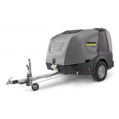 Karcher Professional Hot Water Pressure Washer Trailer HDS 9/50 De Tr1