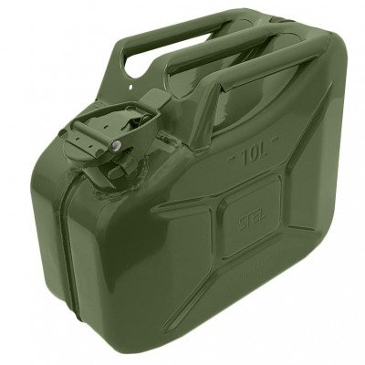 Jerry Can Black 10 Ltr