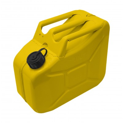 Jerry Can Yellow Screw Top 10 Ltr