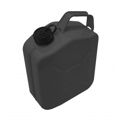 Jerry Can Black Screw Top 5 Ltr