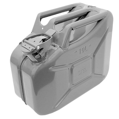 Jerry Can Silver 10 Litre