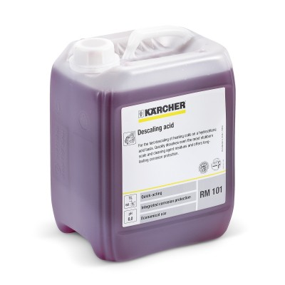 Karcher Professional High Pressure Cleaning Agent Lime solving acid RM 101 ASF