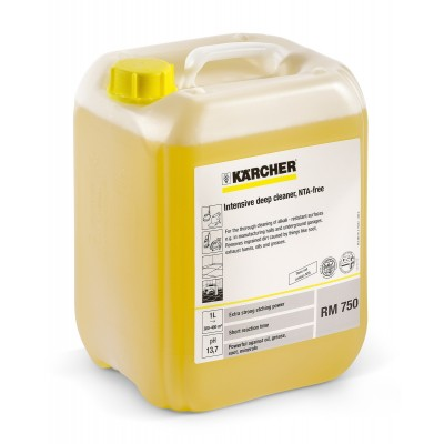 Karcher Professional High Pressure Cleaning Agent RM 750 Intensive Deep Cleaner ASF, NTA-