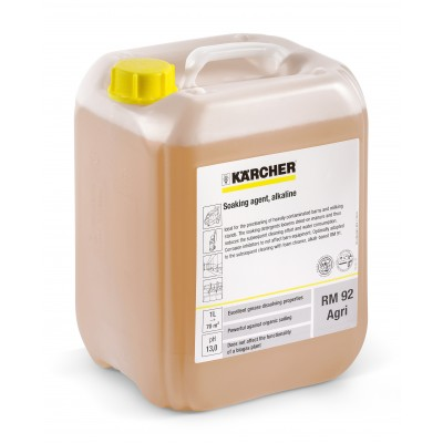 Karcher Professional High Pressure Cleaning Agent Pressure Pro Soaking Agent, alkaline RM 92 Agri