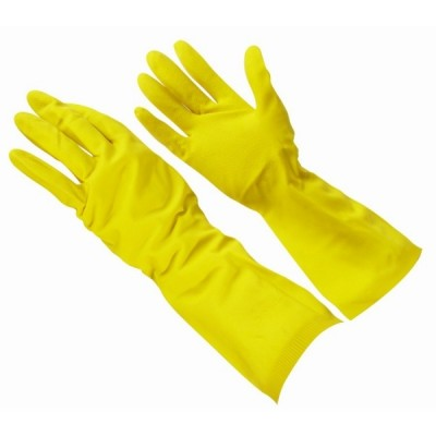 Household Gloves Yellow Medium (1 Pair)