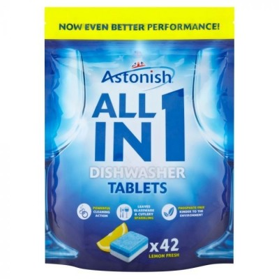Efresh All in 1 Dish Wash Tablets (Qty 4 x 100)
