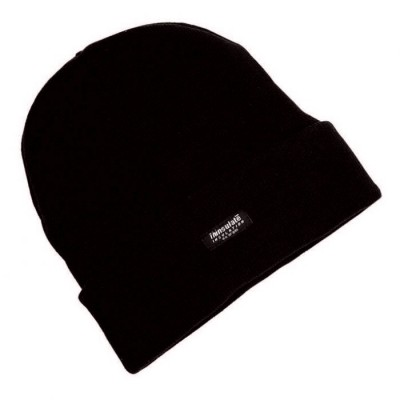**WINTER STEL SPECIAL OFFER**  THINSULATED HAT BEANIE STYLE BLACK HAT