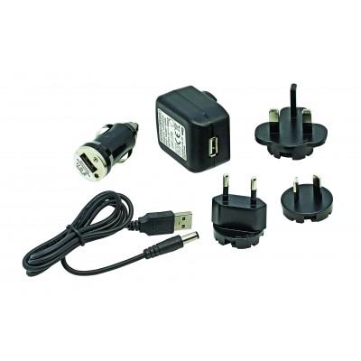Unilite DC to USB charging kit for Unilite Lantern batteries DC-USB-KIT multi country adaptors