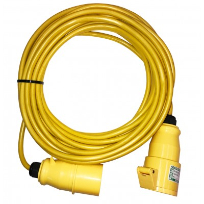 14 Metre 110V Extension Lead (2.5mm 32amp)