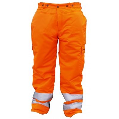 Hi-Vis Chainsaw Trousers (XL)
