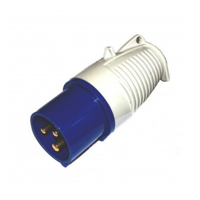 240V 16Amp Blue Plug