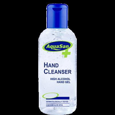 Aquasan 100ml Hand Sanitiser – Anti Bacterial Alcohol Gel 70% Alcohol