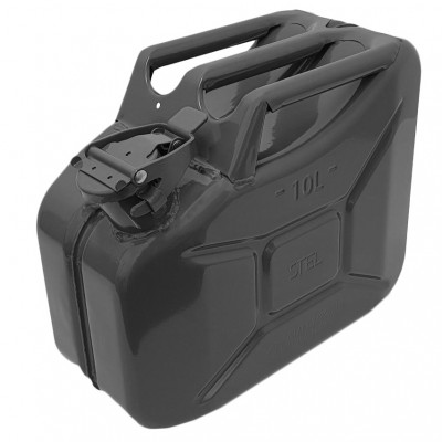 Jerry Can Black 10 Litre
