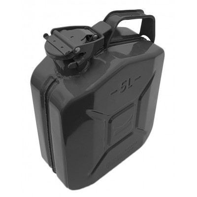 Jerry Can Black 5 Litre