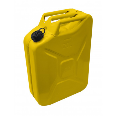 Jerry Can Yellow Screw Top 20 Litre