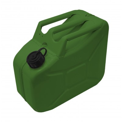 Jerry Can Black Screw Top 10 Ltr
