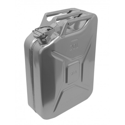 Jerry Can Silver 20 Ltr