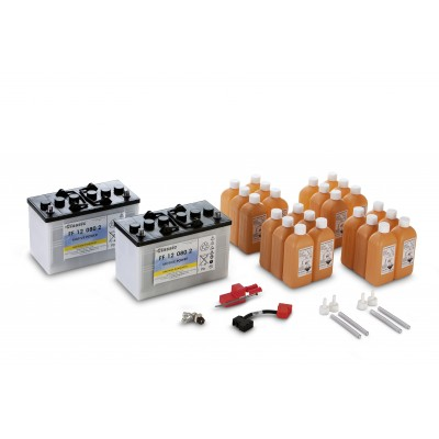 Karcher Professional Battery set, 80 Ah, low maintenance.