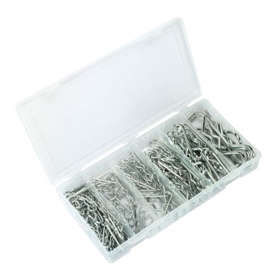 Hair Pin R Clip Assortment (150pc)