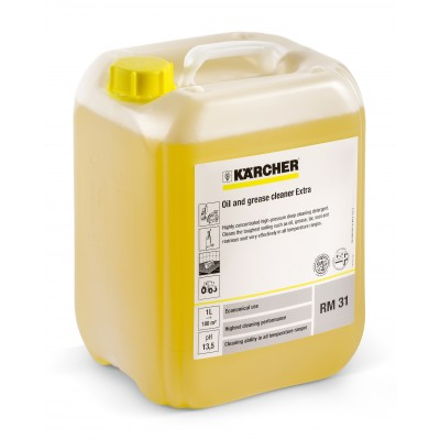 Karcher Professional High Pressure Cleaning Agent Oil and Grease Cleaner EXTRA RM 31 ASF, concentrate