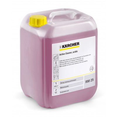 Karcher Professional High Pressure Cleaning Agent Active cleaner, acid, RM 25 ASF, concentrate