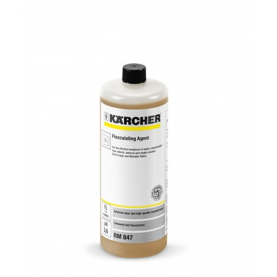 Karcher Professional Wastewater Recycling Cleaning Agent WaterPro Flocculating Agent RM 847