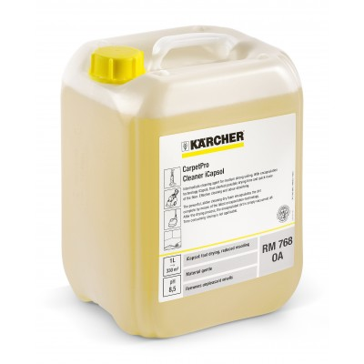 Karcher Professional Carpet Cleaning Agent CarpetPro Cleaner iCapsol RM 768 OA 10L