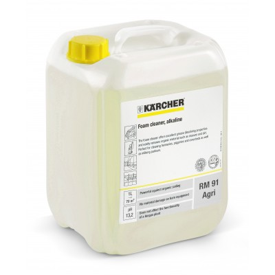 Karcher Professional High Pressure Cleaning Agent RM 91 AGRI Foam Cleaner alkaline
