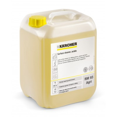 Karcher Professional High Pressure Cleaning Agent PressurePro Surface Cleaner, acidic RM 93 Agri