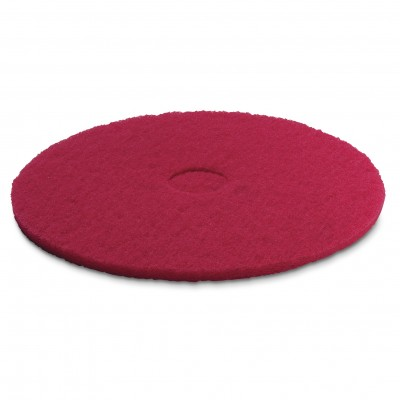Karcher Professional Scrubber Dryer Disc Pad, 306 mm, red