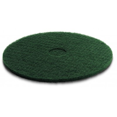 Karcher Professional Scrubber Dryer Disc Pad, green, medium hard 405 mm