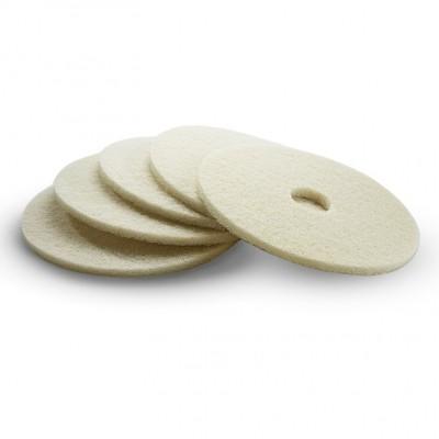 Karcher Professional Scrubber Dryer Polishing pad beige 432 mm