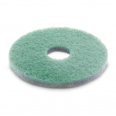 Karcher Professional Scrubber Dryer Disc Diamond pad, green, 385 mm