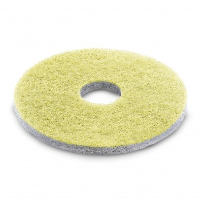Karcher Professional Scrubber Dryer Disc Diamond pad, yellow, 457 mm