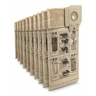 Karcher Professional Vacuum Paper filter bags CV 30/1 - CV 38/1, 10 pcs.