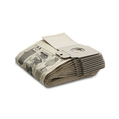 Karcher Professional Vacuum Paper filter bags, bulk pack