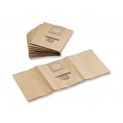Karcher Professional Vacuum Paper filter bags T 7/1 - T 10/1 , 300 pcs.