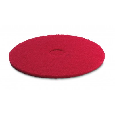 Karcher Professional Scrubber Dryer Disc Pads 170 mm, red