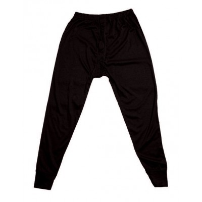 **STEL WINTER SPECIAL** THERMAL LONG JOHNS BLACK SIZE MEDIUM
