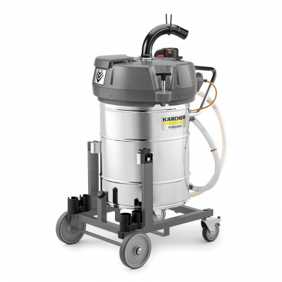 Karcher Professional Industrial Liquid And Swarf Vacuum Technology IVR-L 100/24-2 Tc Me Dp *W2K