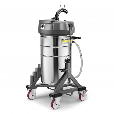 Karcher Professional Industrial Liquid And Swarf Vacuum Technology IVR-L 120/24-2 Tc Me Dp *W2K