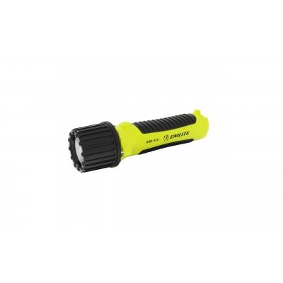 Unilite Zone 0 Intrinsically Safe Handheld flashlight ATEX-FL4 with Safety release gas valve