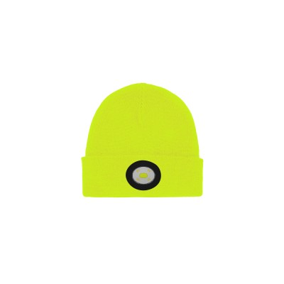 Unilite LED Beanie Light  BE-02+Y 150 Lm Li-polymer USB rechargeable light in warm knitted beanie