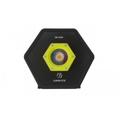 Unilite rechargeable CRI Colour Render Index industrial hexagon 2300 Lumen