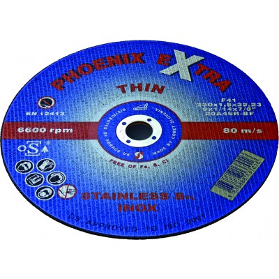 Px Thin Cutting Discs 115 X 1.0mm - 10pc