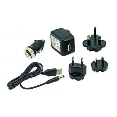 Unilite DC to USB charging kit for Unilite Lantern batteries DC-USB-KIT multi country adaptors