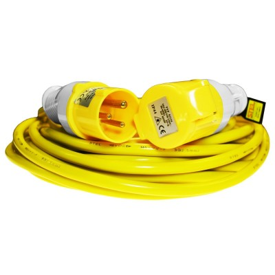 14 Metre 110V Extension Lead (2.5mm 16amp)