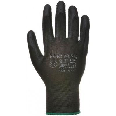 PU Palm Coated Gloves-Medium