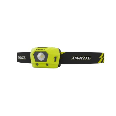 Unilite LED USB Rechargeable Headlight HL-4R 275 Lm 2 x additional 5m RED LEDs